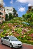 lombard SAN οδός Καλιφόρνιας Francisco Στοκ φωτογραφία με δικαίωμα ελεύθερης χρήσης