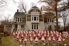 Lombard Santas Royalty Free Stock Image