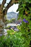 Lombard-Straße, San Francisco lizenzfreie stockfotos