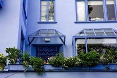 Lombard straat in San Francisco, Californië Royalty-vrije Stock Afbeeldingen
