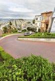 Lombard straat, San Francisco, Californië Stock Fotografie