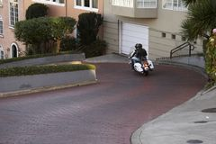 Lombard Street Royalty Free Stock Photography