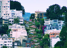 Lombard Street Stock Photography
