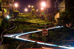 Lombard street in San Francisco Royalty Free Stock Image