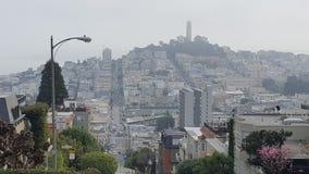 Lombard Street California Stock Image