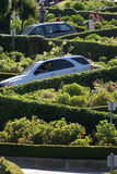 Lombard Street, the crookedest street in the world, San Francisco, California Stock Photography