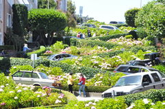 Lombard Street Stock Images