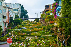 Lombard Street San Francisco Royalty Free Stock Photography