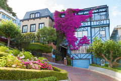 Lombard Street, San Francisco Stock Images