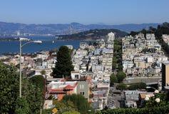 Lombard Street, San Francisco Royalty Free Stock Photos