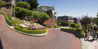 Lombard Street San Francisco Royalty Free Stock Photos