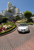 Lombard Street San Francisco Royalty Free Stock Images