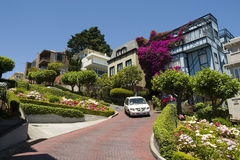 Lombard Street San Francisco Royalty Free Stock Photo