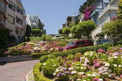 Lombard Street San Francisco Stock Photography