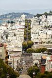 Lombard Street, San Francisco Stock Image