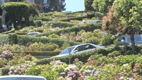 Lombard Street stock footage