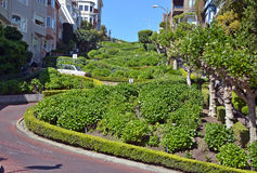 Lombard Street Royalty Free Stock Images