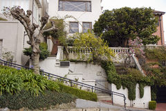 Lombard street in San Francisco, California Stock Image