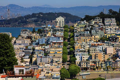 Lombard Street Royalty Free Stock Photos