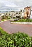 Lombard Street, San Francisco, California Stock Photography
