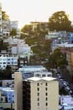Lombard Street, San Francisco, California Stock Photography