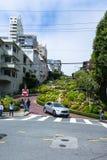 Lombard Street in San Francisco Stock Photos
