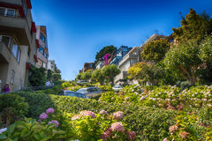 Lombard Street  San Francisco Stock Images