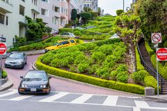 Lombard Street San Francisco Stock Images