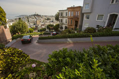 Lombard Street, San Francisco Royalty Free Stock Photography