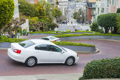 Lombard street Stock Image