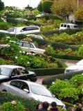 Lombard Street in San Francisco Royalty Free Stock Photos
