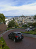 Lombard Street in San Francisco Royalty Free Stock Photography