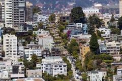 Lombard Street San Francisco, USA Royalty Free Stock Images