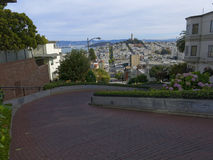 Lombard Street in San Francisco Stock Image