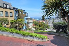Lombard Street, SF Royalty Free Stock Image