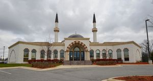 Lombardu meczet Obraz Royalty Free