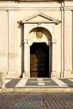 Lombardy    in  the castano primo      sidewalk italy Royalty Free Stock Photography