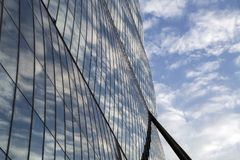Lombardy -Milan - Italy - CityLife. The Allianz tower Royalty Free Stock Photography