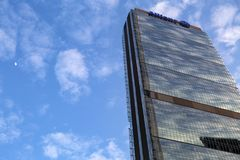 Lombardy -Milan - Italy - CityLife. The Allianz tower Royalty Free Stock Photo