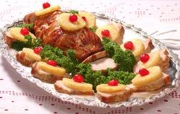 Lombo de carne de porco Imagens de Stock Royalty Free