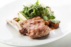 Lombo de carne de porco Fotos de Stock