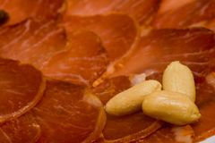 Lombo de carne de porco ibérico Fotos de Stock
