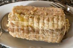 Lombo do assado da carne de porco fotos de stock royalty free
