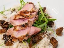 Lombo grelhado da carne de porco imagens de stock royalty free