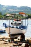 lombock острова Индонесии gili шлюпки около малого Стоковое Изображение