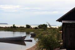 lombock острова Индонесии gili шлюпки около малого Стоковая Фотография RF