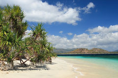 lombok острова пляжа Стоковое Изображение