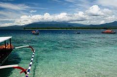 lombok островов Индонесии gili стоковое изображение rf