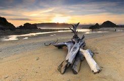 Lombok beac Kuta стоковые изображения