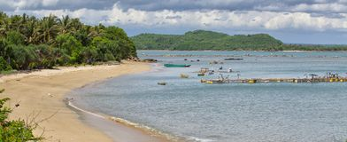 Lombok beach Stock Photo